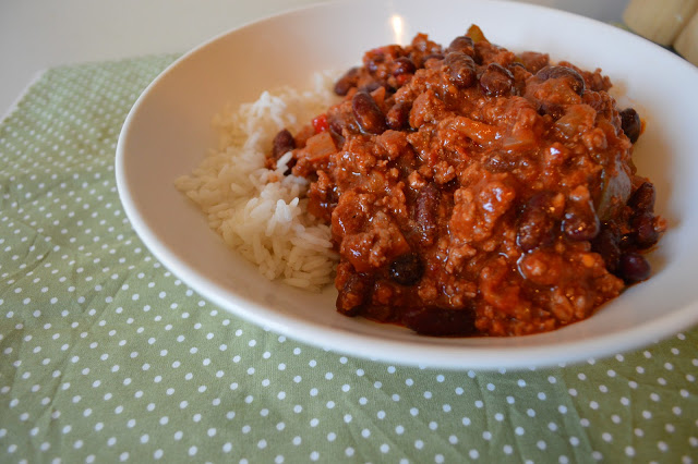 My Mum's Amazing Chilli Con Carne