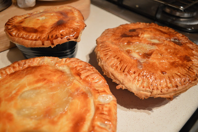 Pastry Topped Fish & Leek Pie