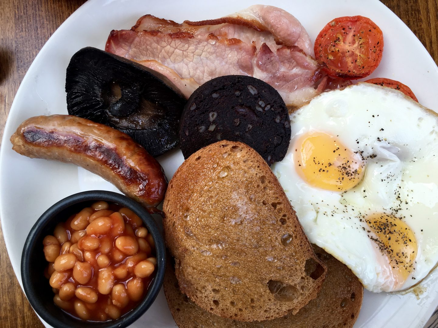 Full English Fry Up at The High Field