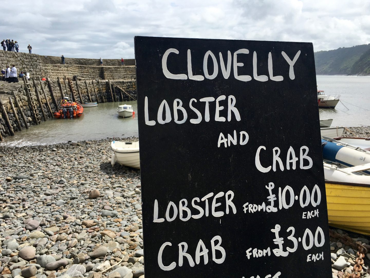 Clovelly Fresh Seafood For Sale