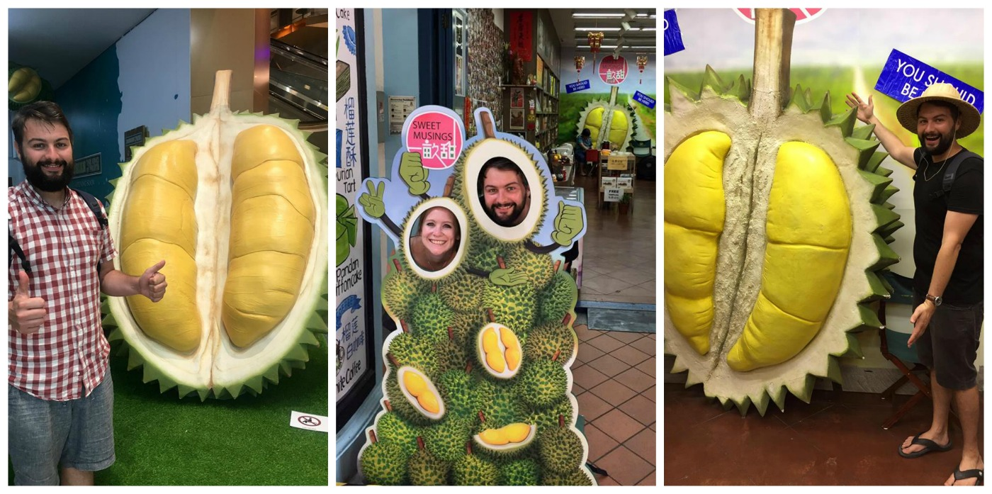 Fun times with Durians in Penang and Singapore