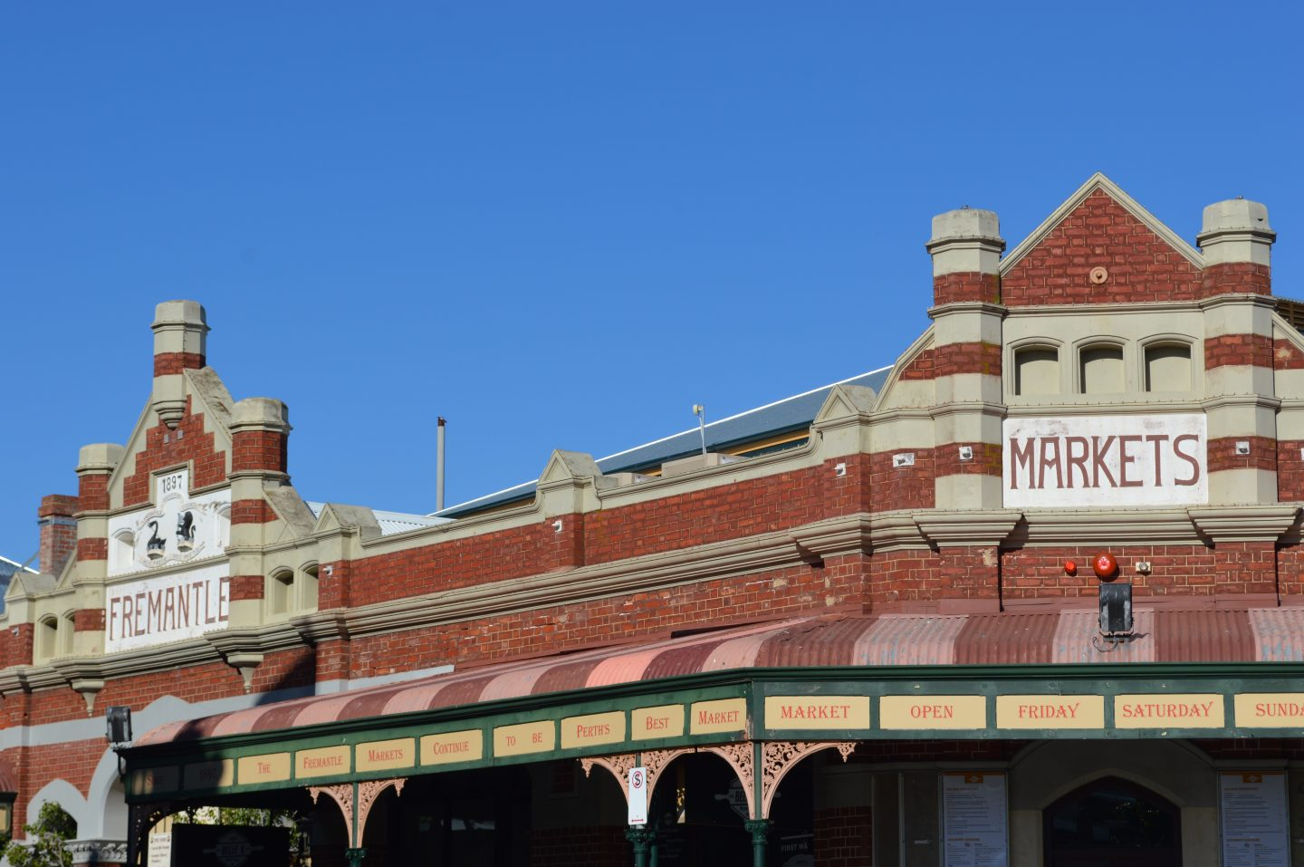 Fremantle Market & Blue Skies