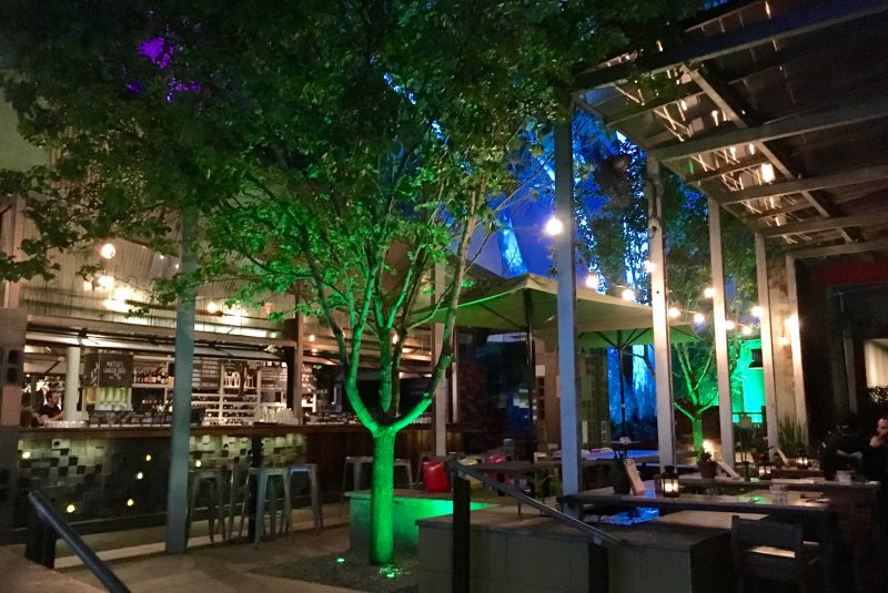 The Garden bar and restaurant in Perth, Australia