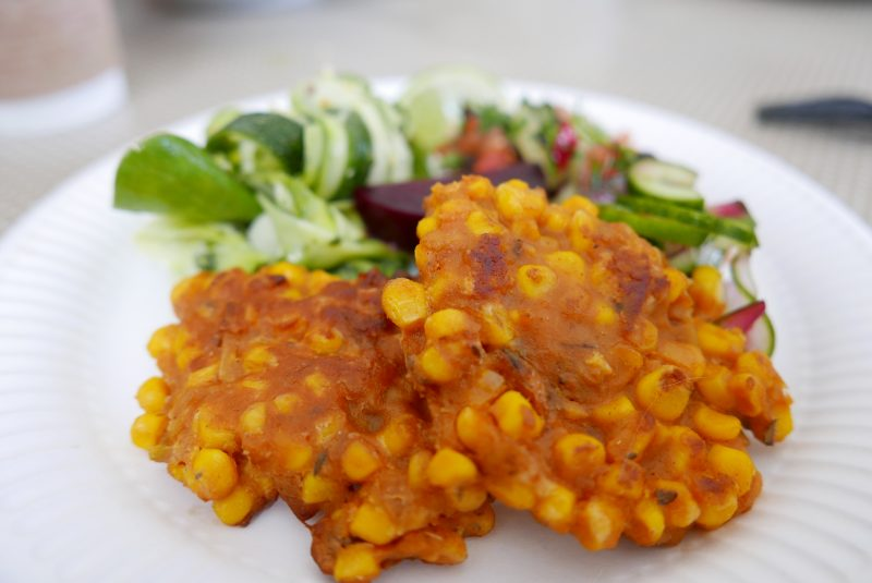 Riverford sweetcorn fritters2