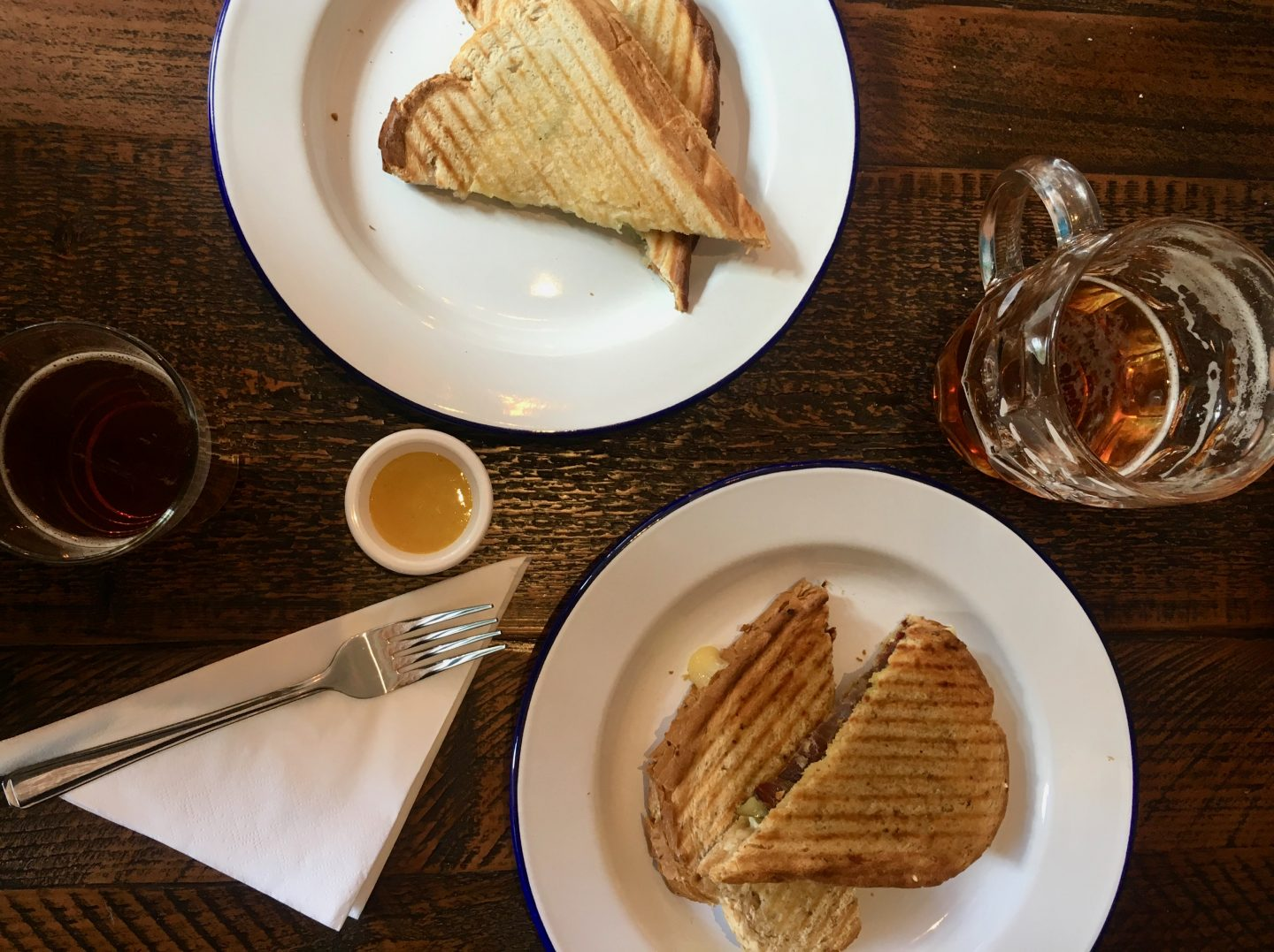 A Pint & A Toastie At The Cotham Arms, Bristol