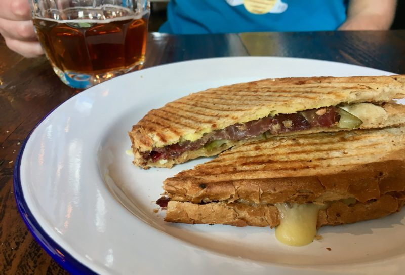 The Reuben toastie at The Cotham Arms