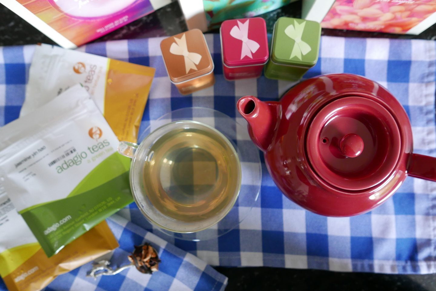 Discovering Adagio Teas & A Giveaway