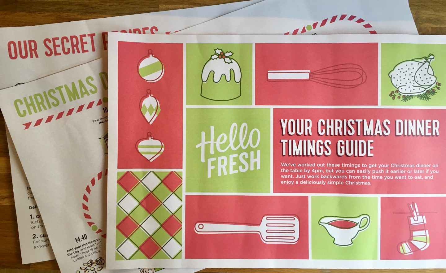 The Ultimate Christmas Dinner, Hello Fresh